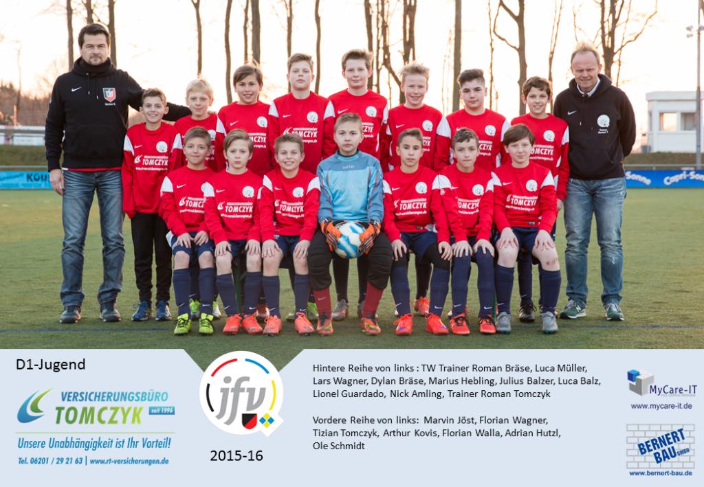 2015-16 D1-Jugend