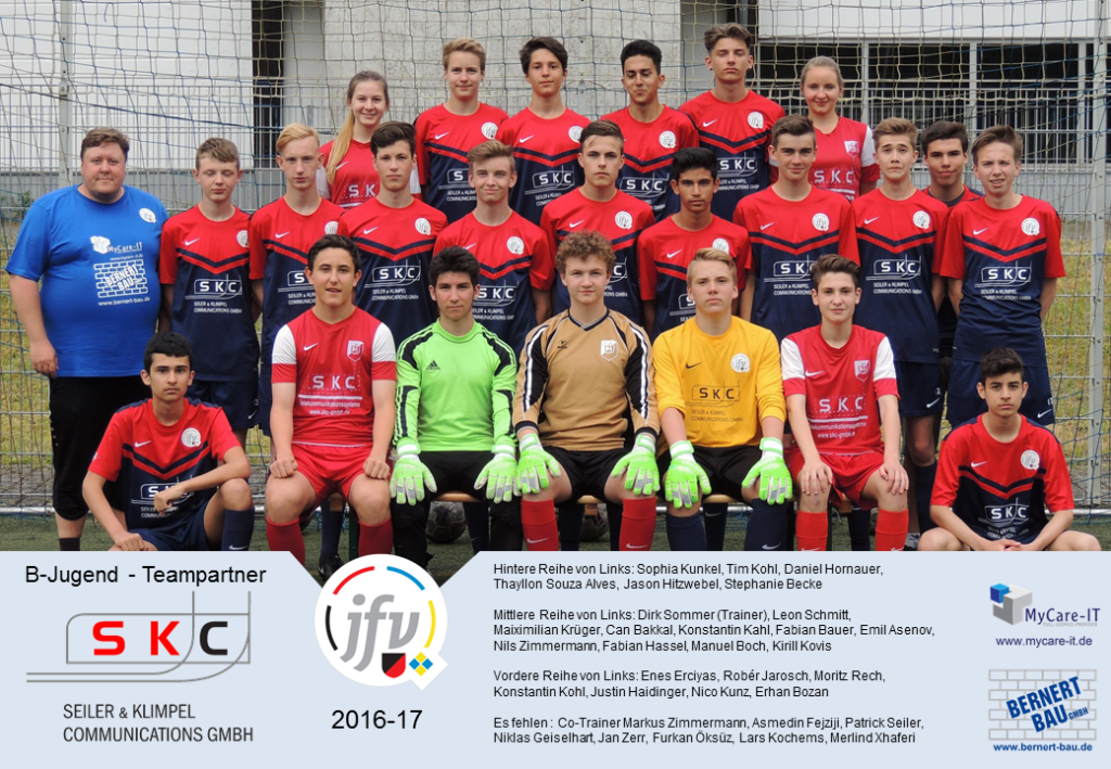 2016-17 B-Jugend